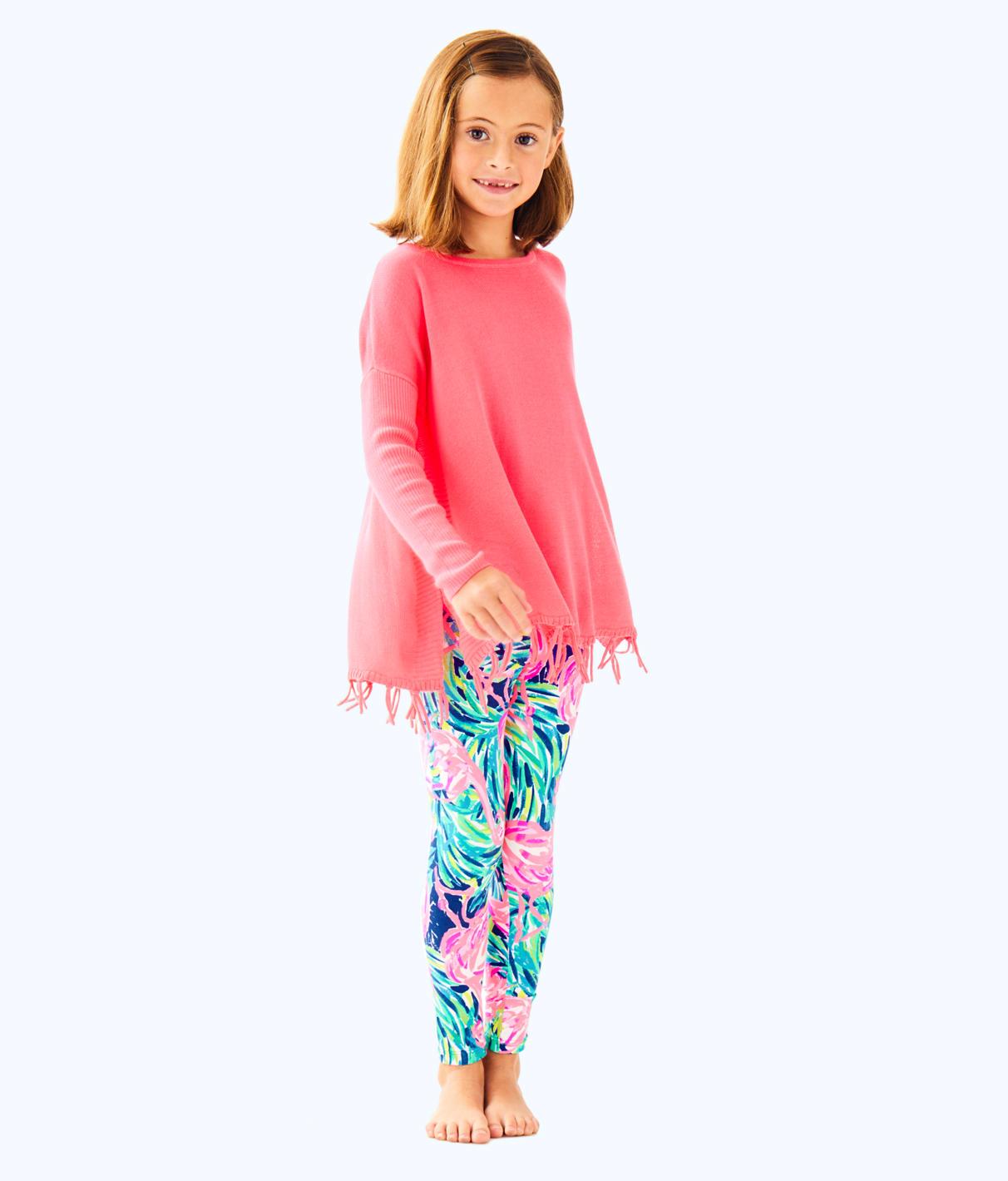 Lilly Pulitzer Lilly Pulitzer Girls Ramona Fringe Sweater