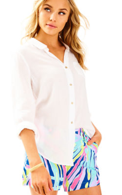 Anna Maria Shirt, Resort White, large