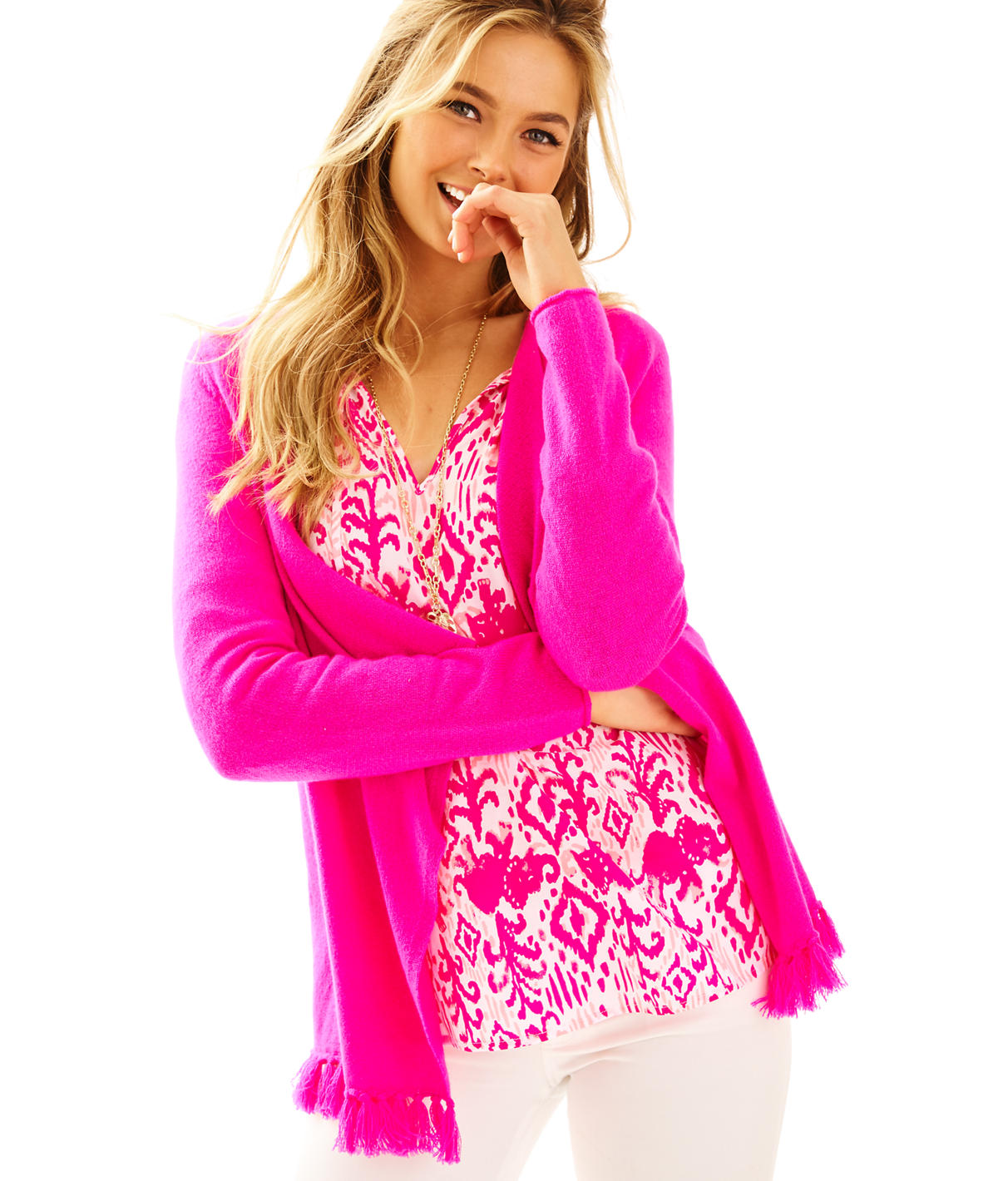 Lilly Pulitzer Alina Cashmere Cardigan