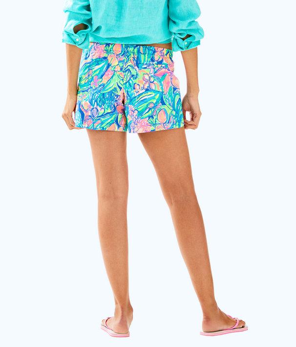 "5"" Ocean View Short, Bennet Blue Surf Gypsea Swim, large"