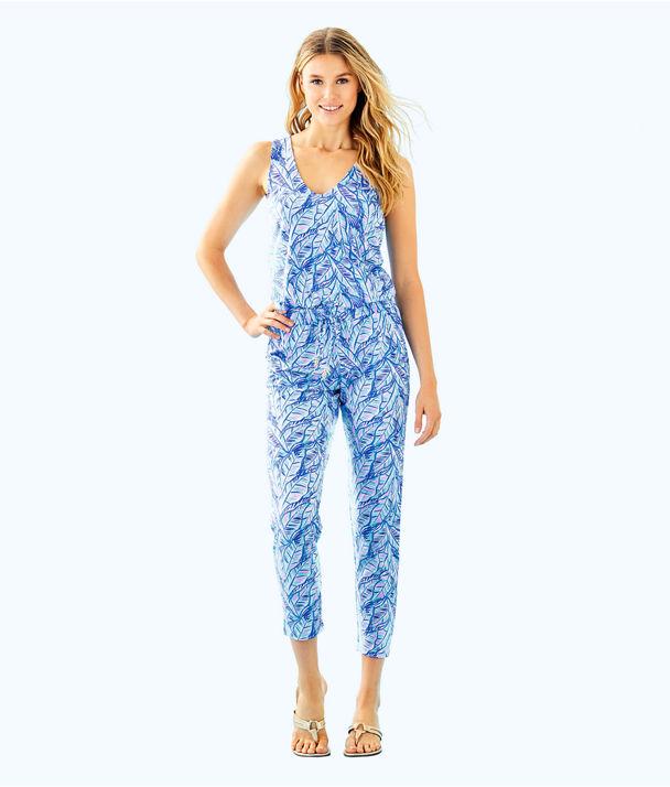 Paulina Jumpsuit, Bennet Blue Lets Mango, large