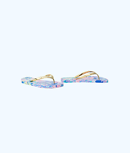 Pool Flip-Flop, Multi Fan Club Shoe, large