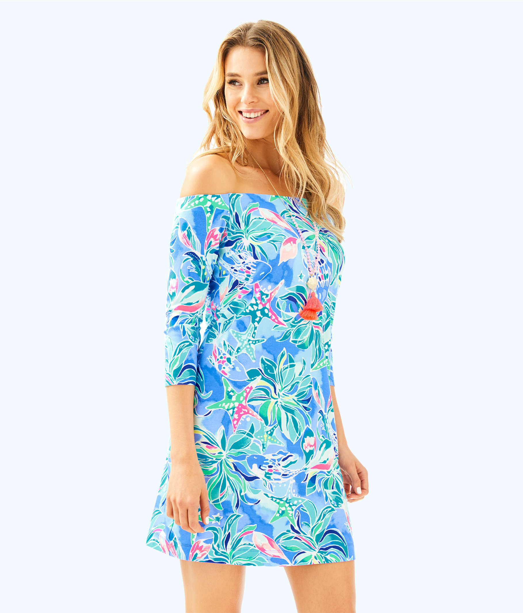 Laurana Off The Shoulder Dress | 25507 | Lilly Pulitzer