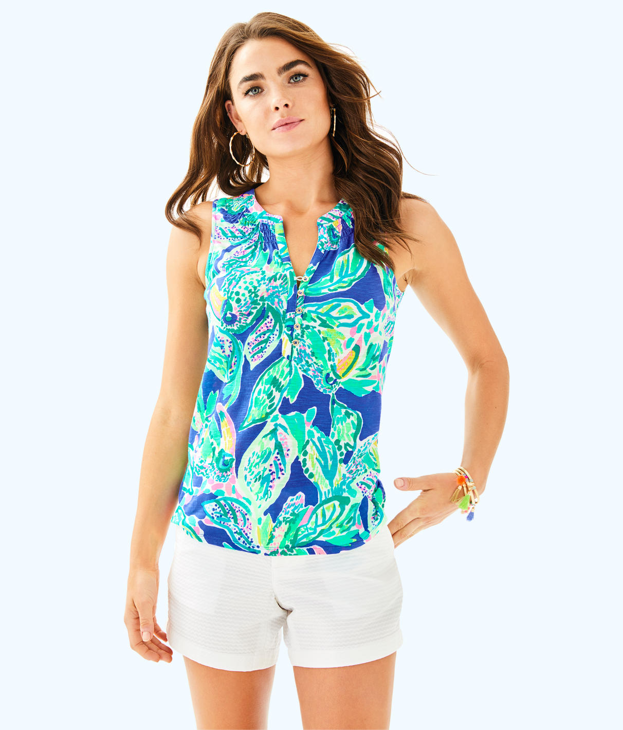 Lilly Pulitzer Lilly Pulitzer Womens Essie Top