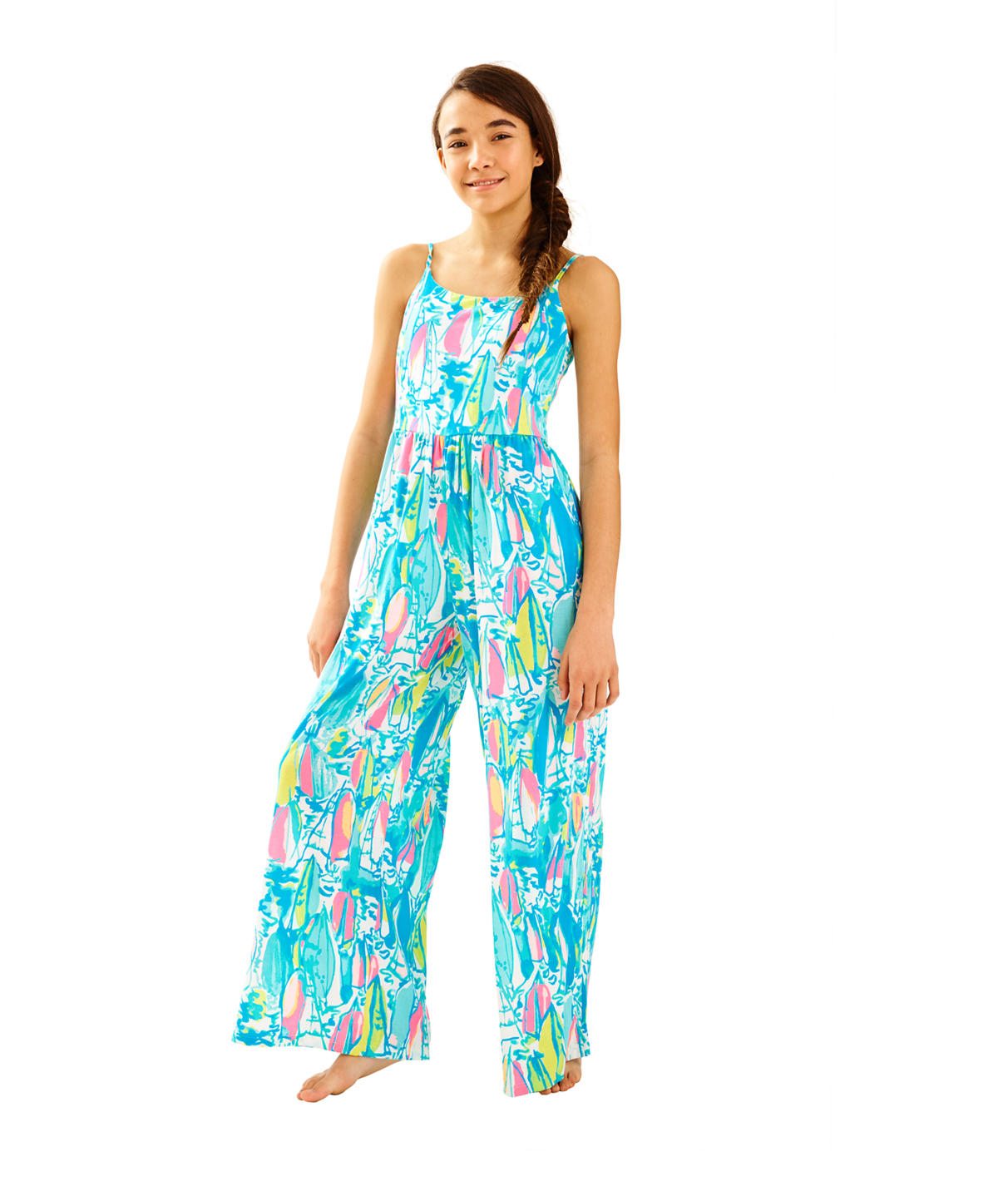Lilly Pulitzer Girls Rosina Jumpsuit