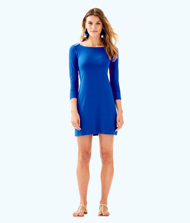 UPF 50+ Sophie Dress, Blue Current, large