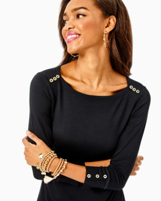 UPF 50+ Sophie Dress, Onyx, large 3