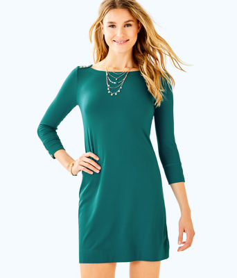 UPF 50+ Sophie Dress, Tidal Wave, large
