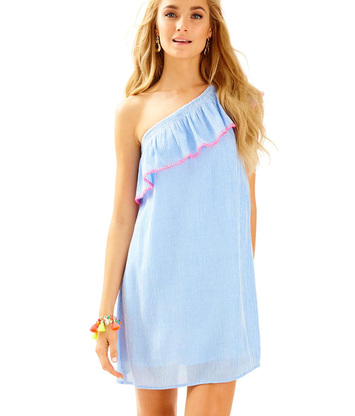 Lilly Pulitzer Emmeline One Shoulder Dress