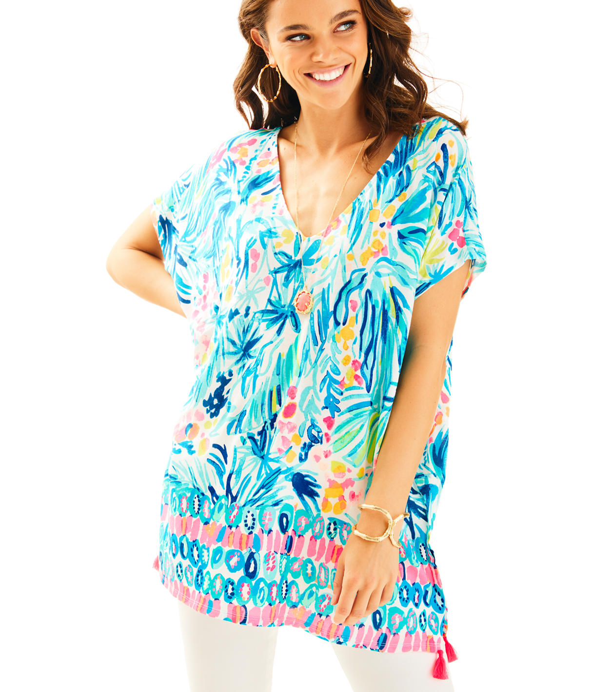 Lilly Pulitzer Seagate Cover-Up