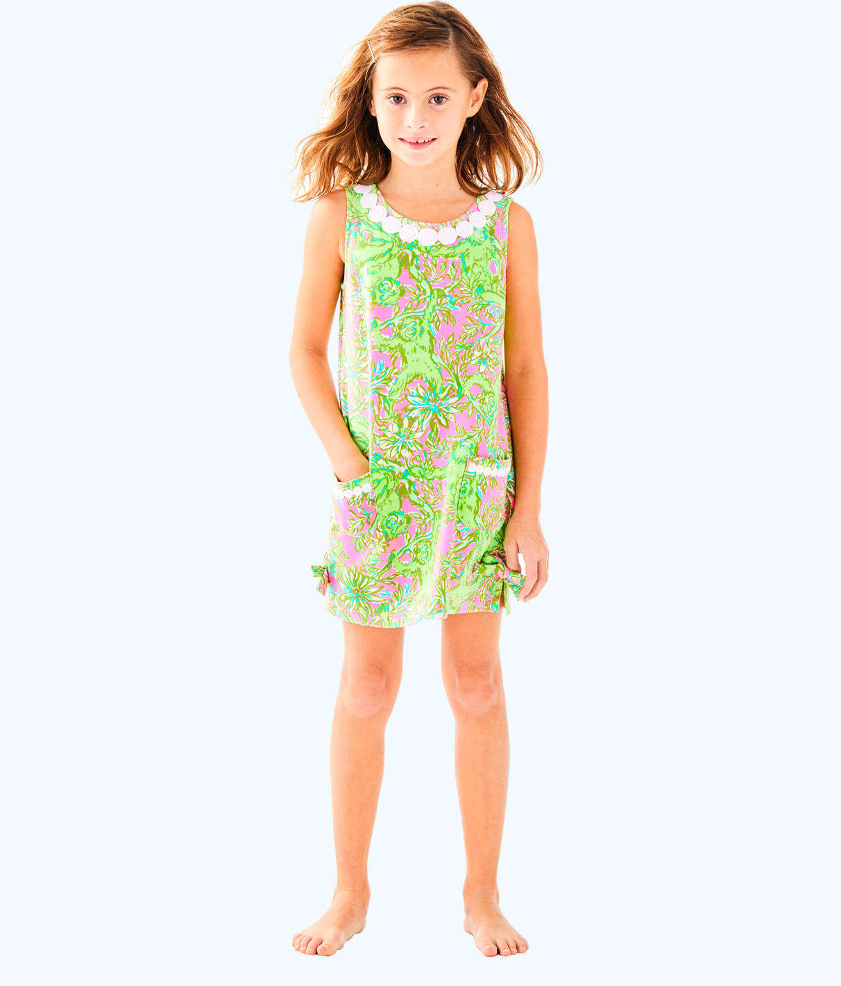 Lilly Pulitzer Lilly Pulitzer Girls Little Lilly Classic Shift Dress