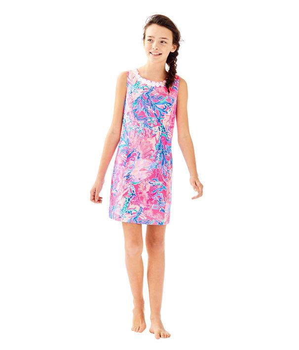 Girls Mini Mila Shift Dress, , large