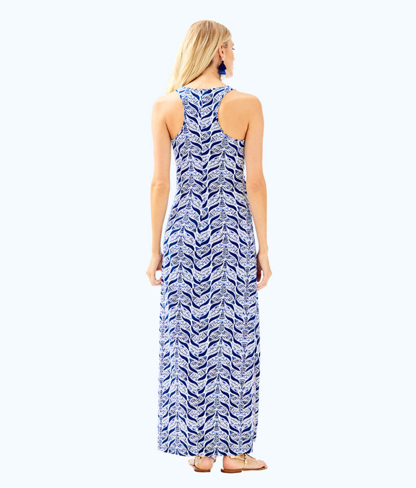 Kerri Maxi Dress, Resort White A Mermaids Tail, large