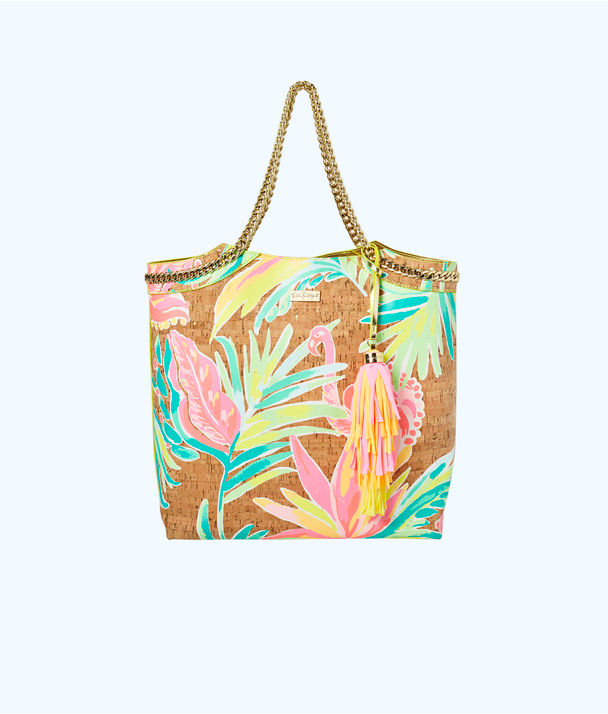 Reversible Seaside Tote Bag