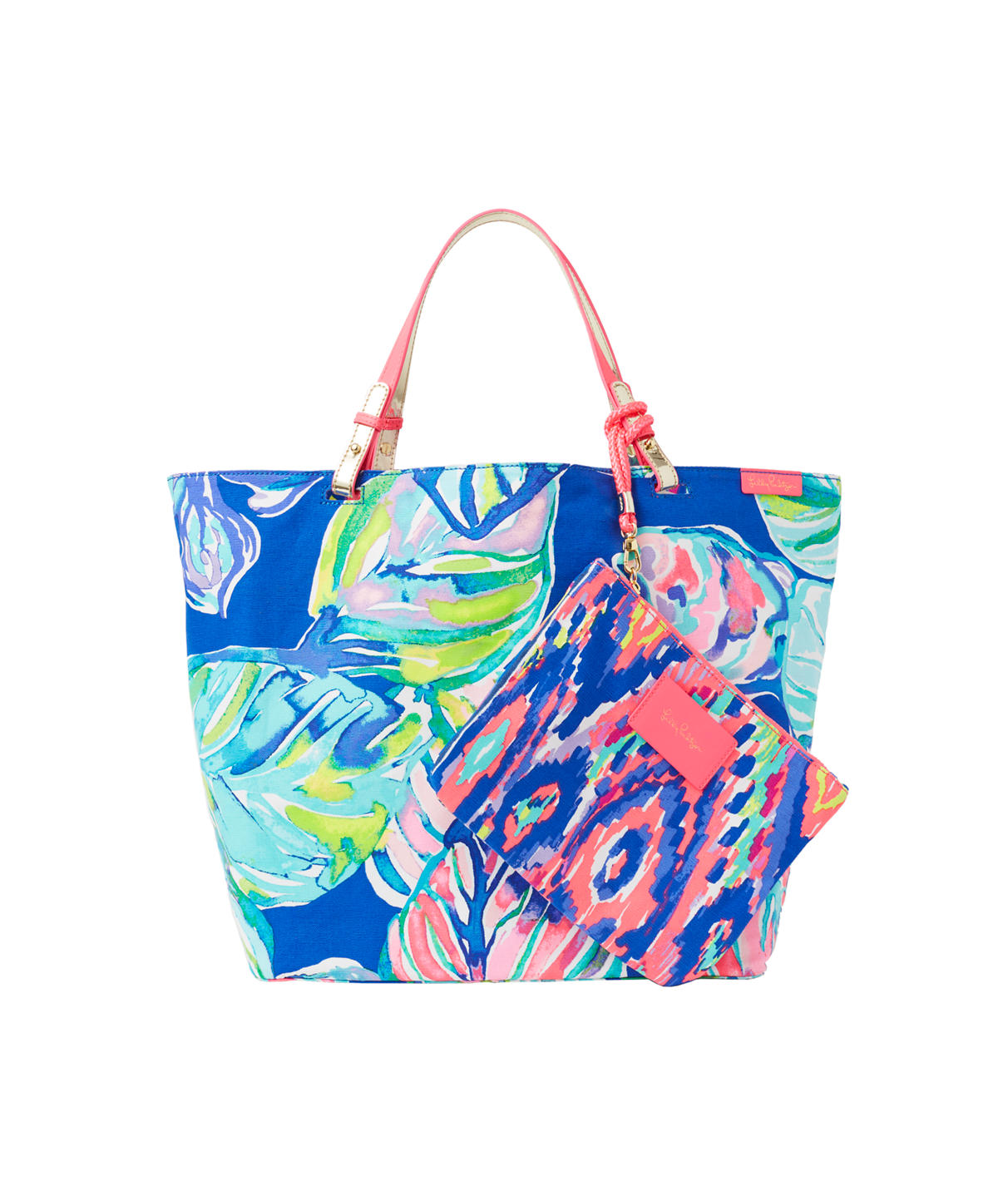 Lilly Pulitzer Beach Bathers Reversible Tote Bag