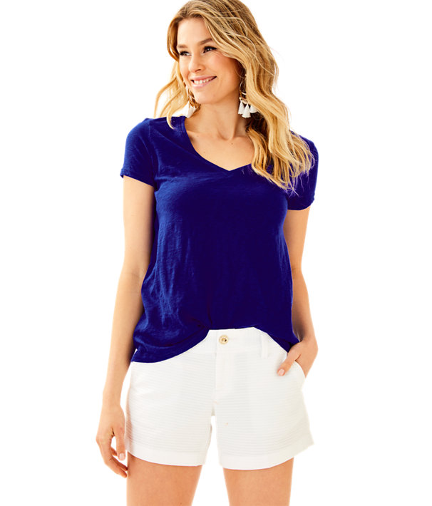 Etta V-Neck Top, , large