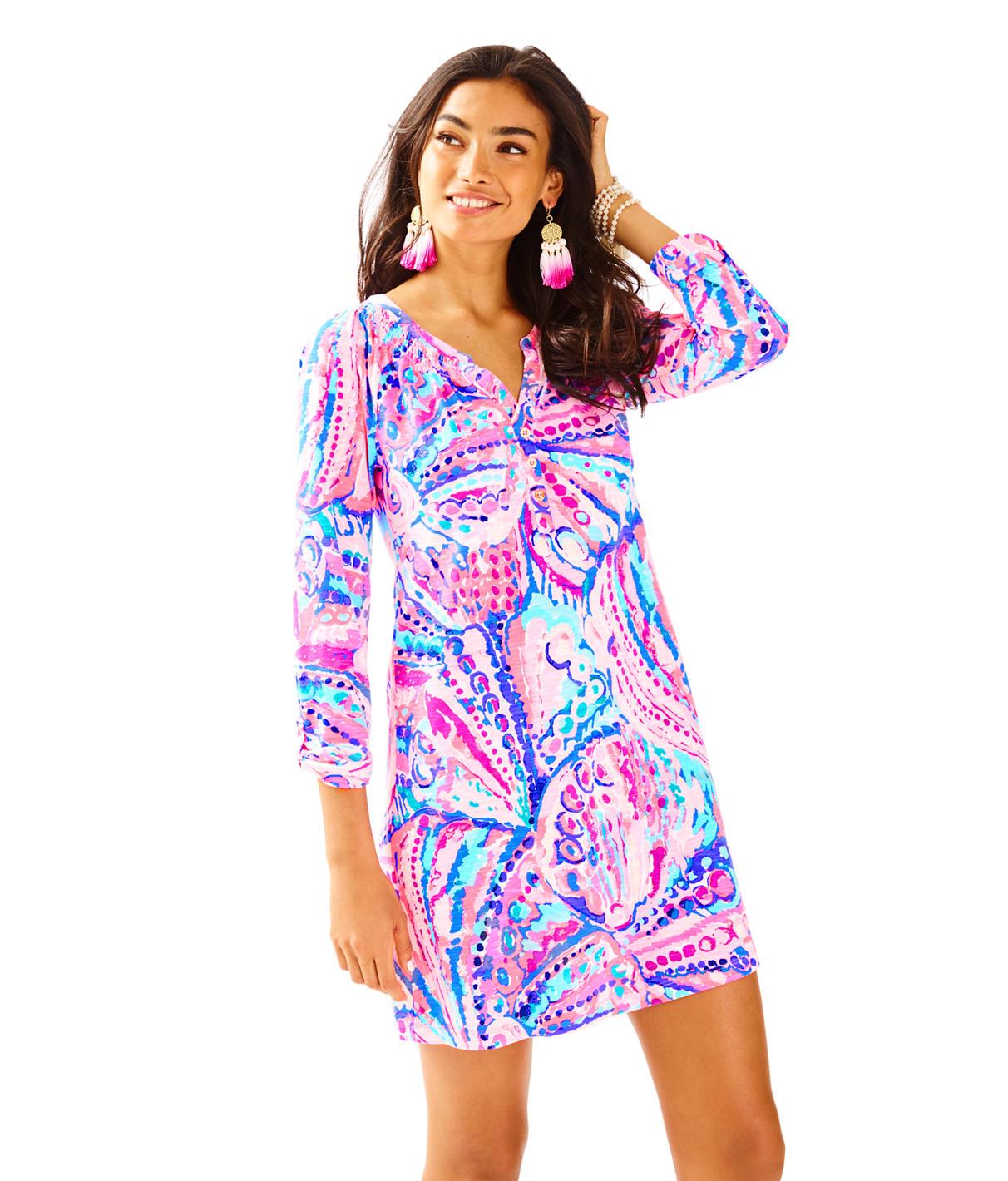 Lilly Pulitzer Sleeved Essie Dress