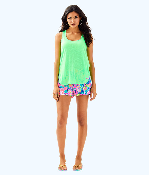 Luxletic Kai Tank, Mermaid Green, large