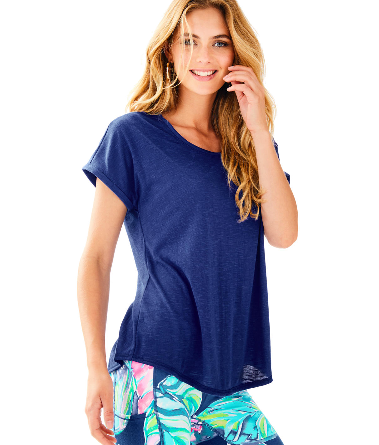 Lilly Pulitzer Luxletic Bryana Tee