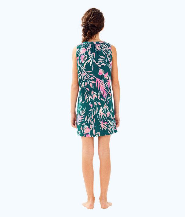 Girls Mini Essie Dress, Tidal Wave Its Prime Time, large