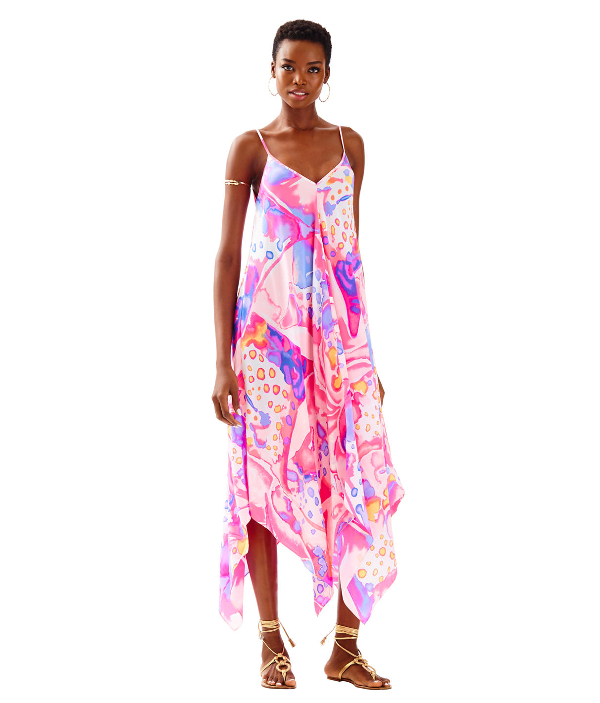 Lilly Pulitzer Rylan Silk Maxi Dress