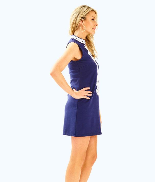 Callista Shift Dress, True Navy, large