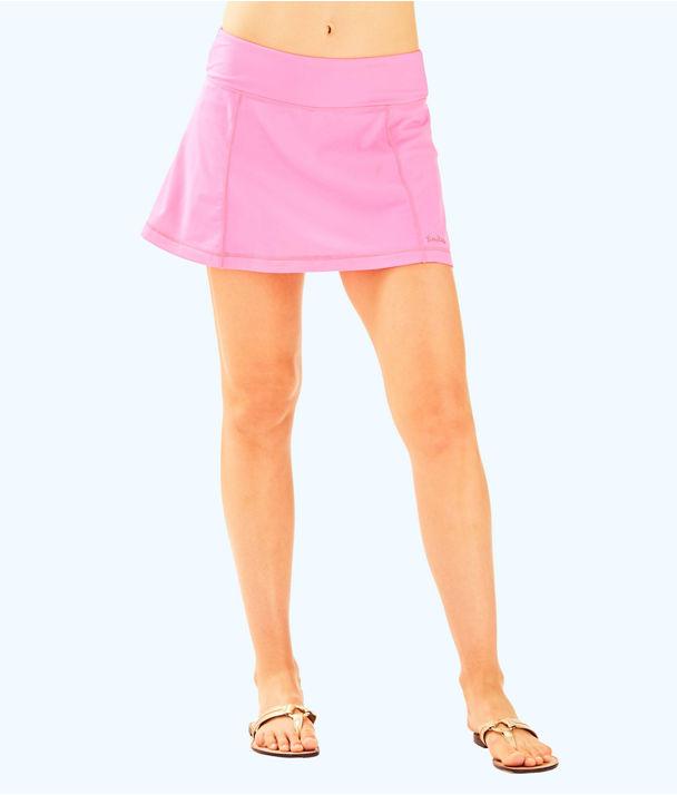 UPF 50+ Luxletic Josephine Skort, Tiki Pink, large