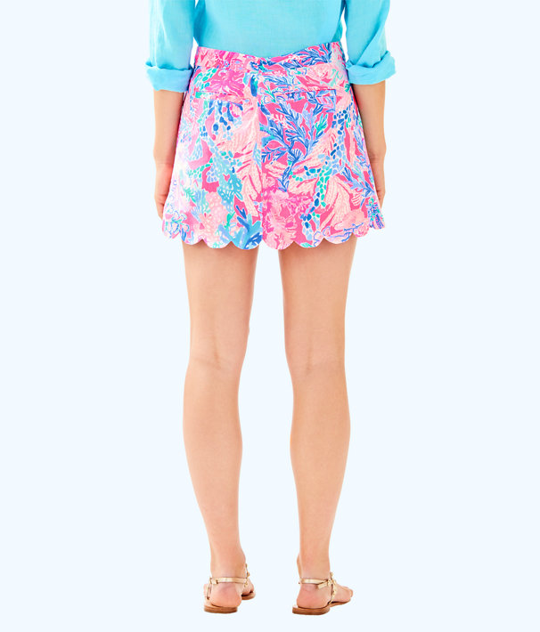 Colette Scallop Hem Skort, Light Pascha Pink Aquadesiac, large