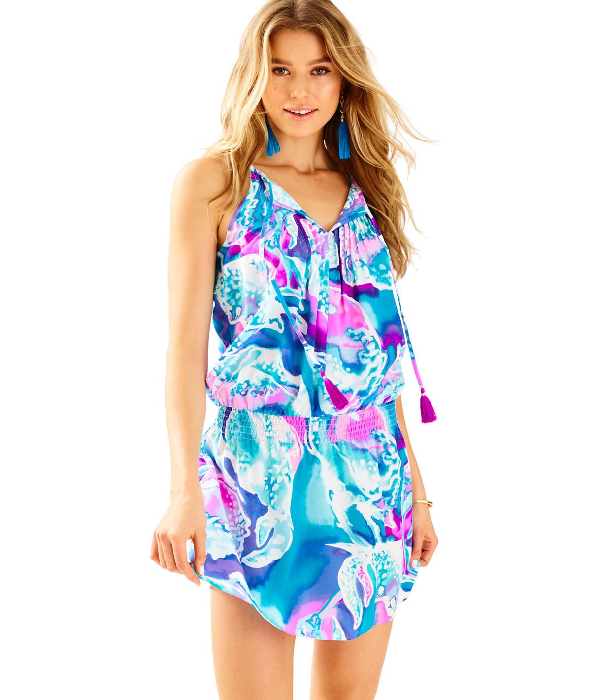Lilly Pulitzer Minda Silk Dress