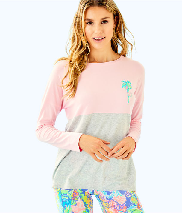 Finn Long Sleeved Tee, Multi On Parade Graphic Motif, large