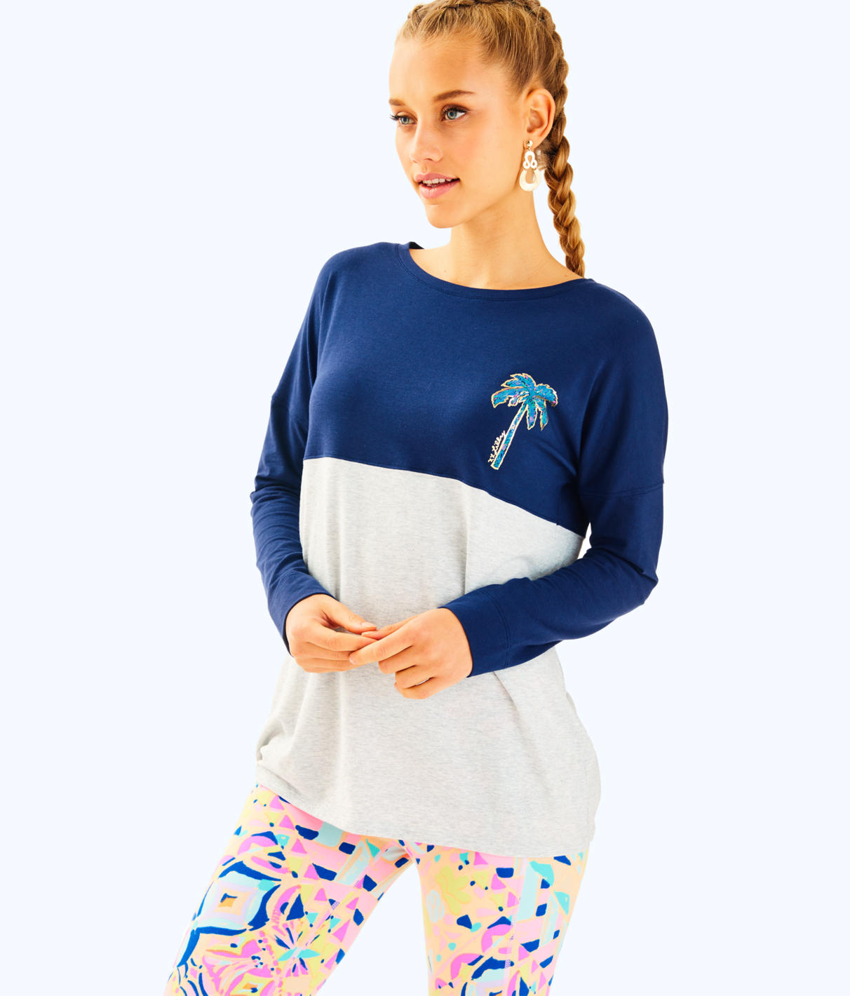 Lilly Pulitzer Lilly Pulitzer Womens Finn Long Sleeved Tee