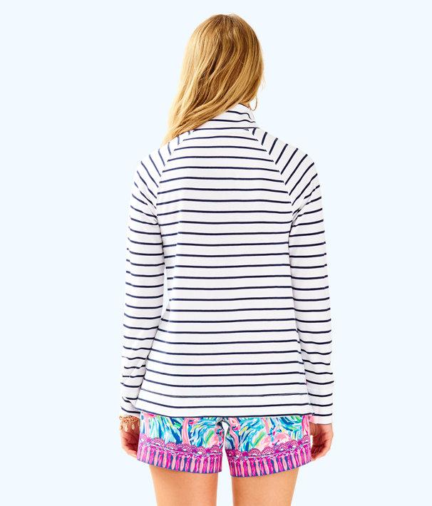 Windsor Pullover, True Navy Mystic Stripe, large