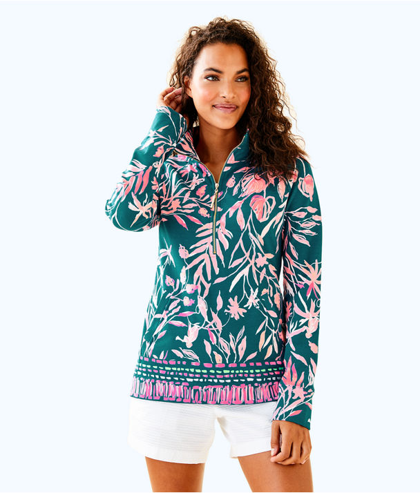 UPF 50+ Skipper Printed Popover, Tidal Wave Its Prime Time Engineered Skipper, large
