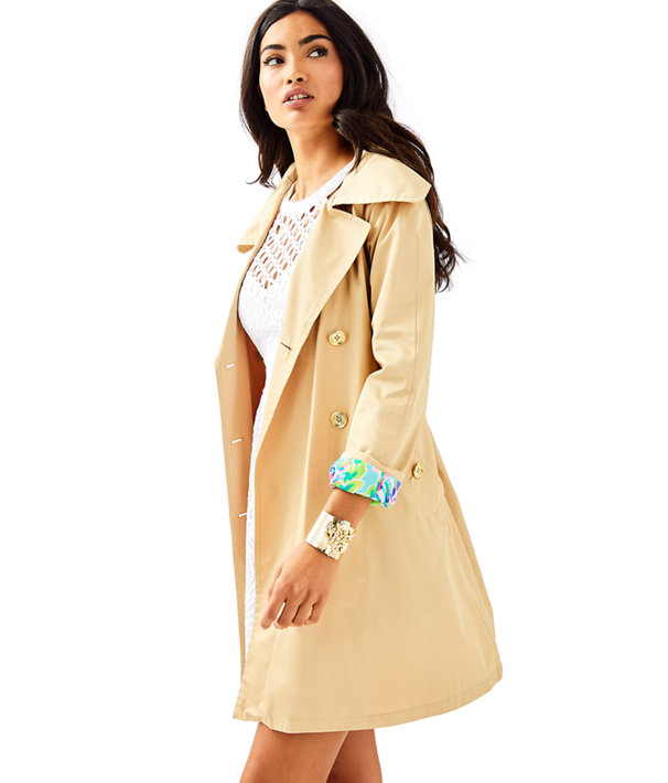 Qynn Trench Coat, , large