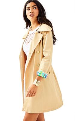 Qynn Trench Coat, , large
