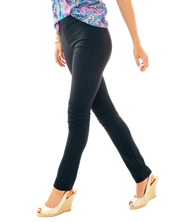 """30"""" Alessia Stretch Dinner Pant, Onyx, large"""