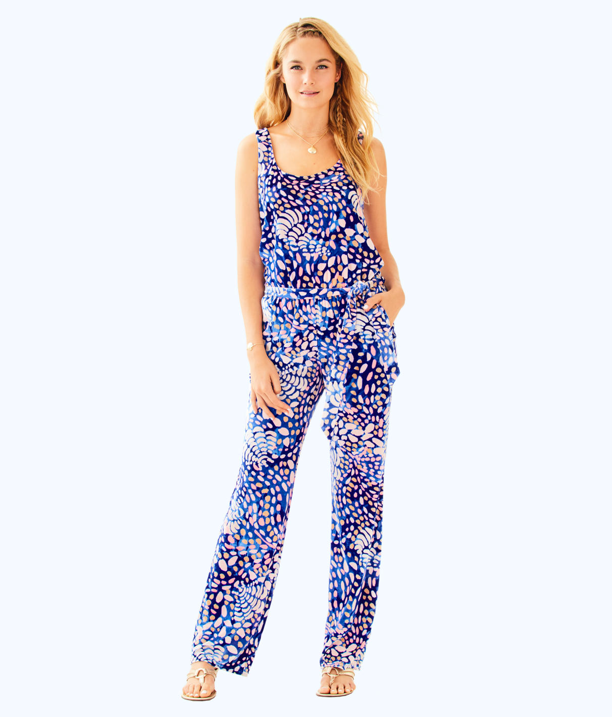 Lilly Pulitzer Lilly Pulitzer Womens Nena Jumpsuit