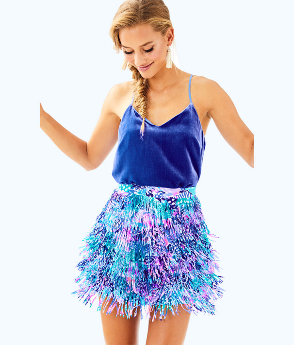 Kelsie Skirt, Multi Quill Out, large