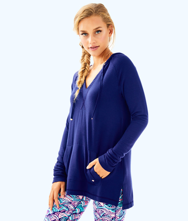 Arin Lounge Popover, True Navy, large