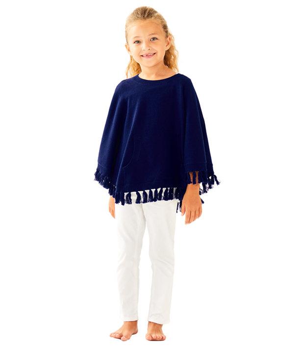 Girls Hani Poncho Sweater, , large