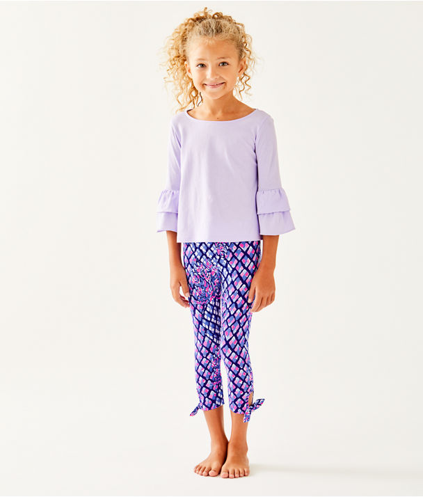 Girls Maia Legging, Royal Purple Pop Up Toe In, large