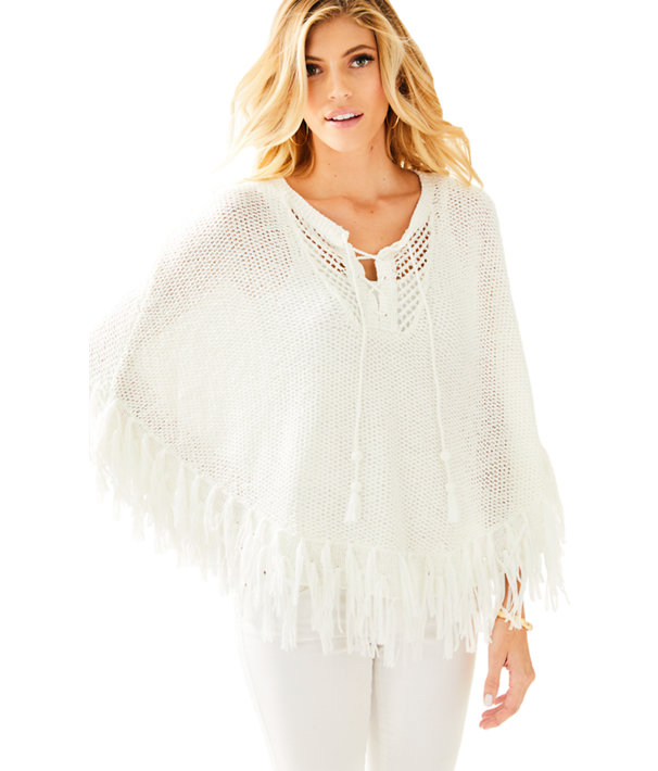 Val Poncho Sweater 27461 Lilly Pulitzer