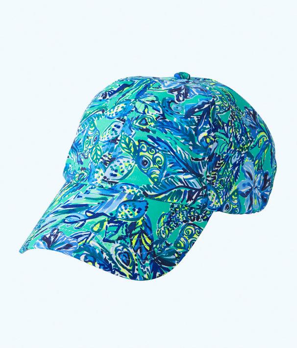 Run Around Hat, Bennet Blue Sneak A Beak Hat, large