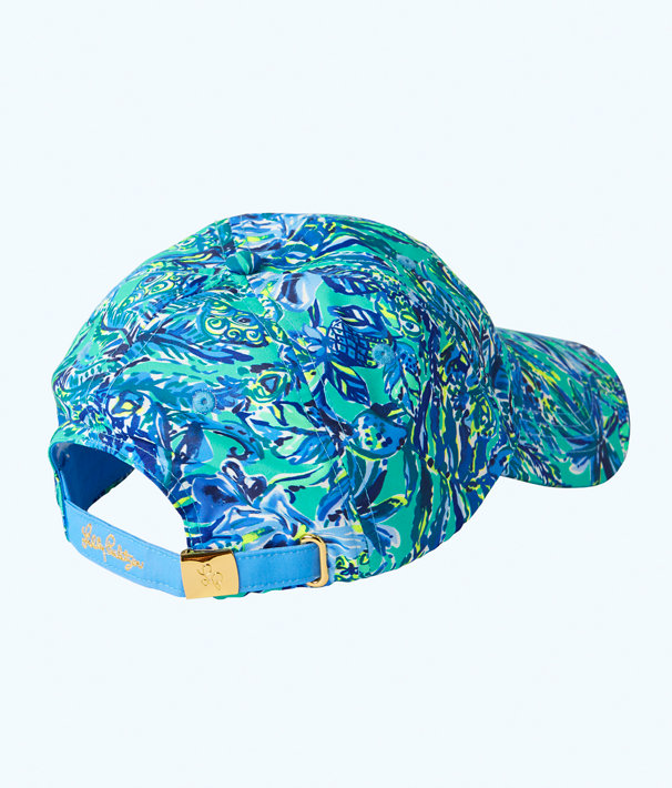 Run Around Hat, Bennet Blue Sneak A Beak Hat, large