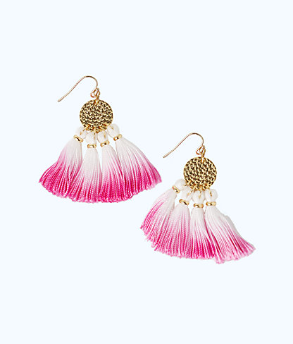 Dreamcatcher Earrings, Berry Sangria, large