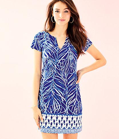 UPF 50+ Sophiletta Dress, Twilight Blue Early Riser Engineered Dress, large