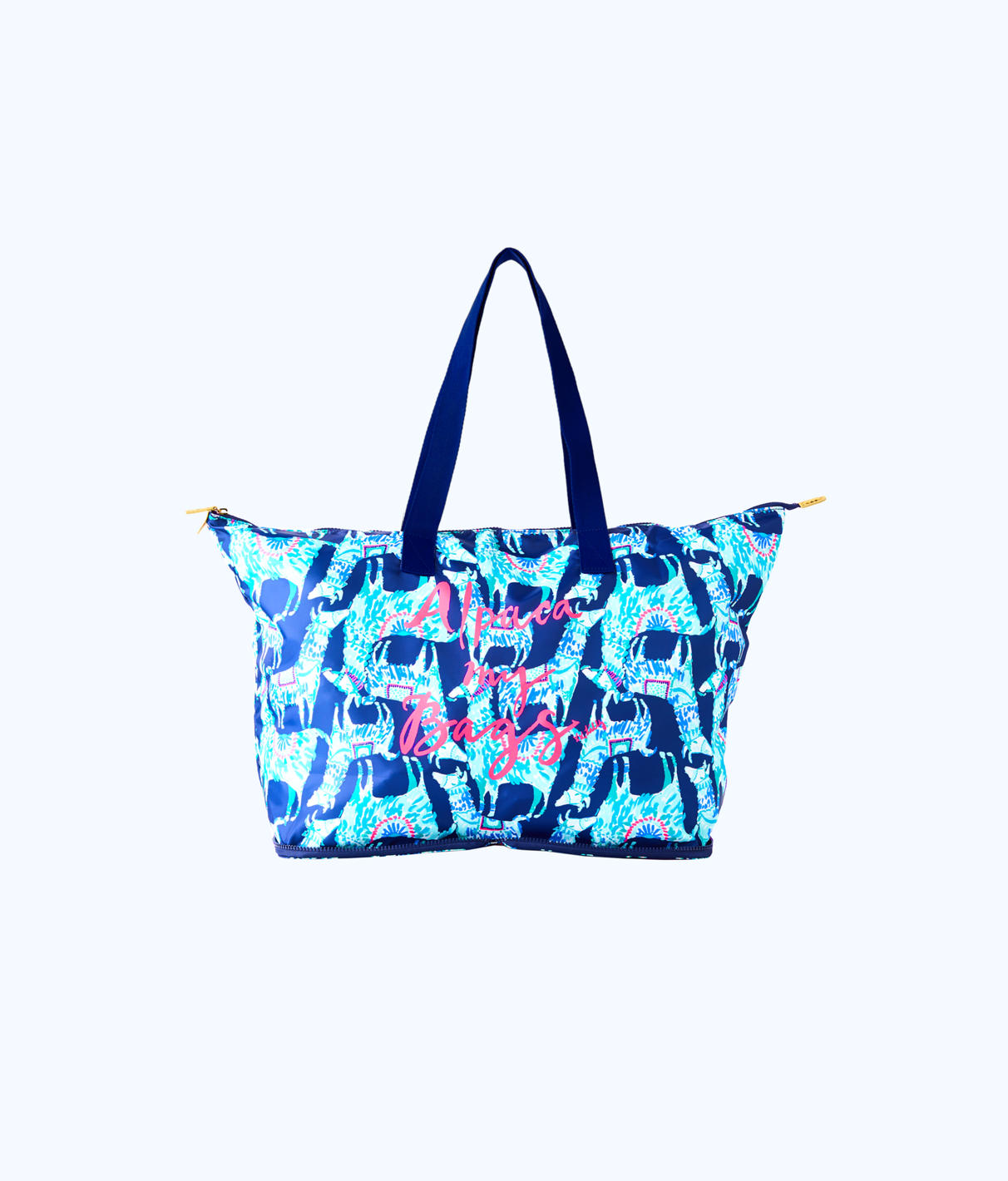 Lilly Pulitzer Lilly Pulitzer Getaway Packable Tote Bag