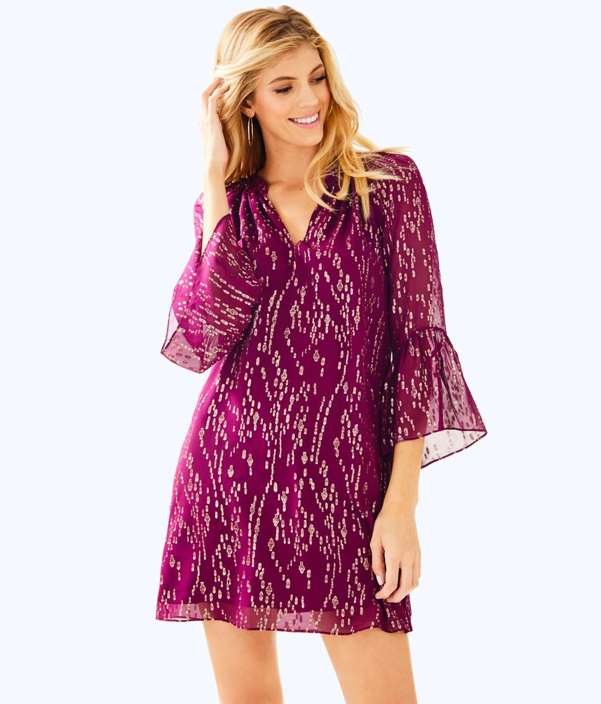 Lilly Pulitzer Matilda Silk Tunic Dress