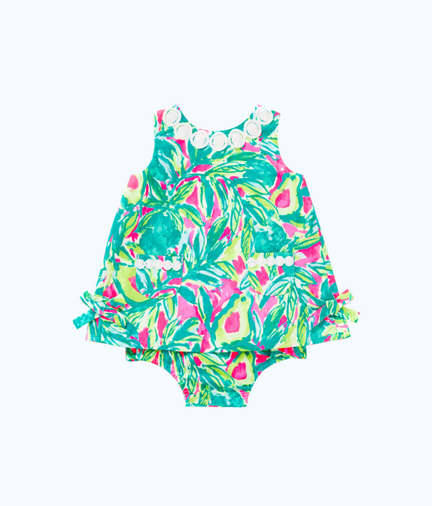 Baby Lilly Shift, Pink Sunset Guac And Roll, large