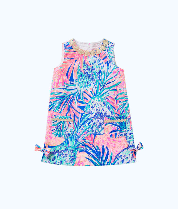 Girls Little Lilly Classic Shift Dress, , large